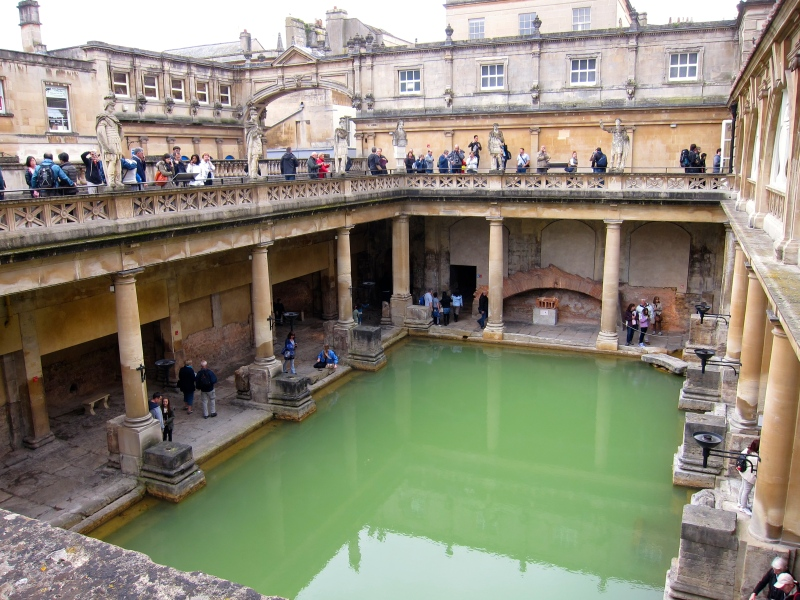 The Roman Bath lies at the heart of the city's development and history.