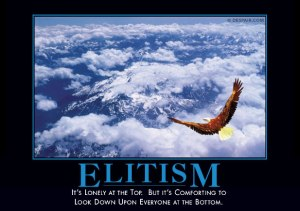 elitismdemotivator